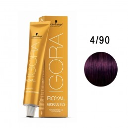 SCHWARZKOPF TINTE IGORA ROYAL ABSOLUTES 4-90