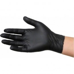 GUANTES LATEX NEGROS...