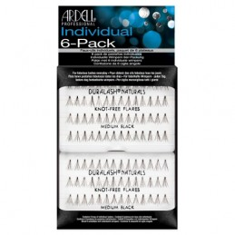 ARDELL PESTAÑAS GRUPO S/NUDO 6 PACK NATURAL MEDIUM