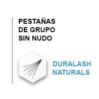 Pestaña de grupo sin nudo - Duralash Naturals